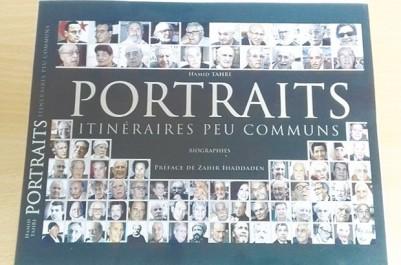 """Vente-dédicace des """"Portraits"""" de Hamid Tahri: En présence de Djamila Bouhired"""