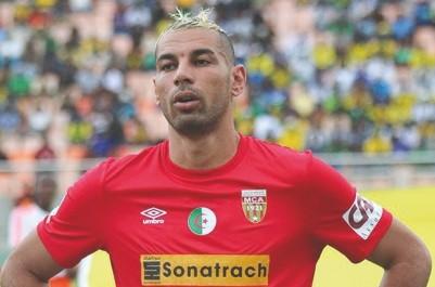MC Alger: Chaouchi suspendu pour cinq matchs