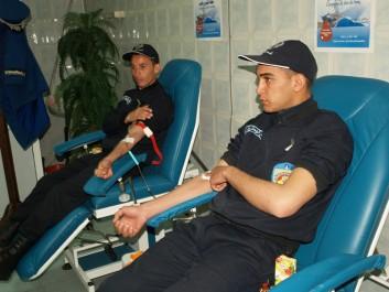 Maghnia: Don de sang des policiers