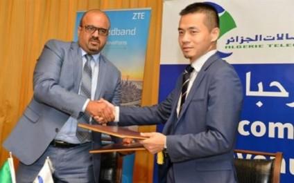 Algérie Télécom signe un gros contrat avec le chinois Huawei