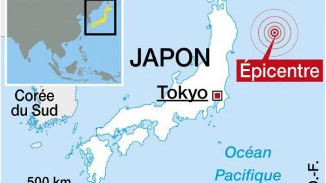 La côte sud du Japon frappée par un séisme de magnitude 6.1