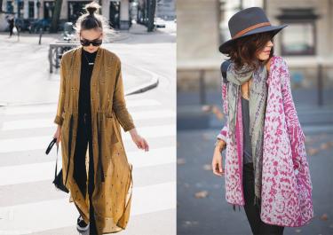 Le kimono: La pièce parfaite pour la mi-saison