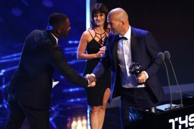 Best FIFA Award : Zidane remporte le trophée d'entraineur de l'année