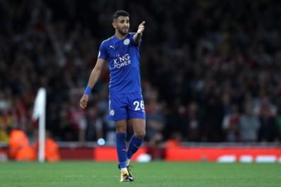 Leicester a bloqué le transfert de Mahrez au Barça ou à Rome