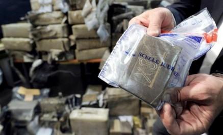 France: 2,3 tonnes de cannabis saisies dans un poids lourd marocain