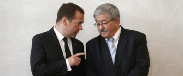 Ouyahia s'entretient avec son homologue russe