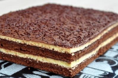 Gâteau à la génoise