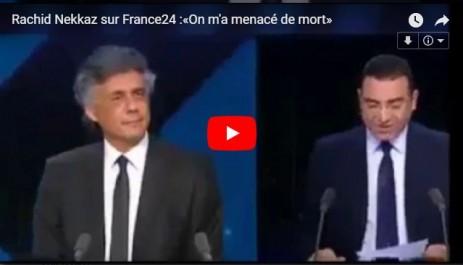 VIDÉO. Rachid Nekkaz sur France24 :«On m'a menacé de mort»