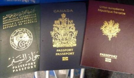Le passeport algérien a la 80eme place mondiale : Seulement 46 pays sans visa pour les algériens
