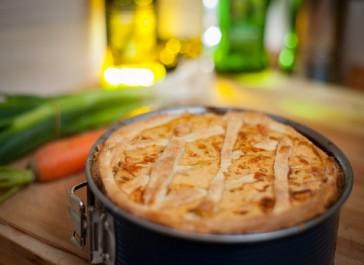 Recette: Tarte au Poulet et au Curry