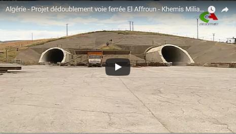 Il reliera trois wilayas sur 56 km, le tunnel le plus long d'Afrique du Nord réceptionné fin 2018