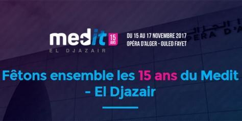 Med-It El Djazair : le rendez-vous incontournable des TIC et du Digital, est de retour pour une 15e édition.