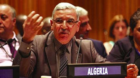 L'Algérie rappelle le droit des sahraouis à l'autodétermination