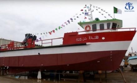 Pêche et aquaculture: Sortie du premier catamaran fabriqué en Algérie