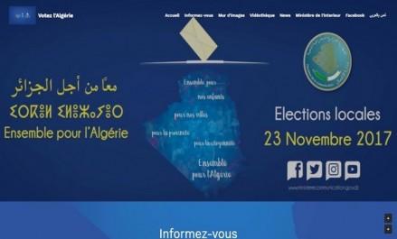 Le ministère de la Communication lance un site web dédié aux élections locales de 2017