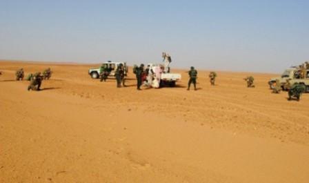 MDN : Trois tonnes de denrées alimentaires saisies à Bordj Badji Mokhtar et In Guezzam