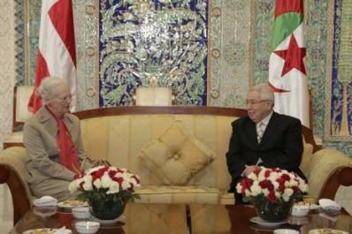La Reine de Danemark Marguerite II effectue une escale technique à Alger