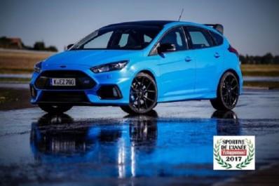 Magazine Echappement : La Ford Focus RS Pack Performance élue Sportive de l'année 2017