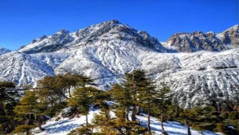 Bouira : Premieres neiges a tikjda