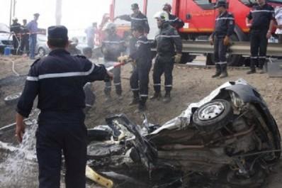 Trois morts et deux blessés dans un accident de la route