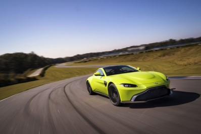 Aston Martin : La nouvelle Aston Martin Vantage se dévoile