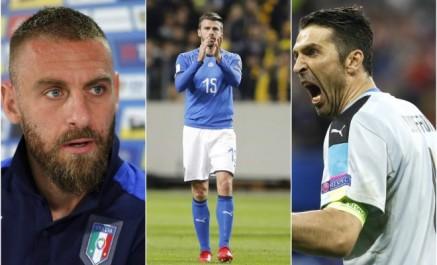 Football/Italie: Après Buffon, De Rossi et Barzagli annoncent leur retraite internationale