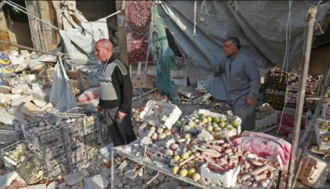 Syrie : des frappes sur un marché ont fait 53 morts