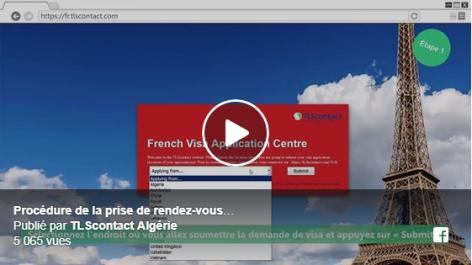 Visas pour la France: Comment obtenir un rendez-vous à TLScontact Algérie