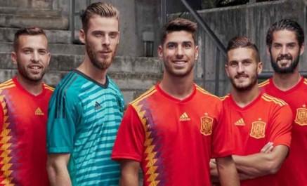 Espagne: Le nouveau maillot de la Sélection fait polémique