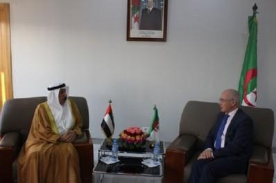 Sous-traitance : Entretien de Monsieur le Ministre de l'Industrie et des Mines avec l'Ambassadeur des Emirats Arabes Unis en Algérie