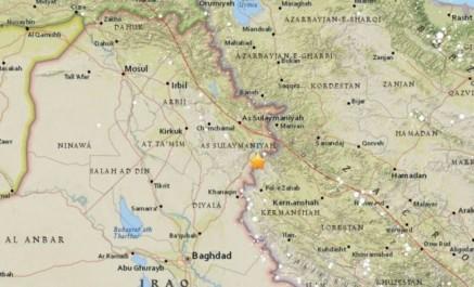 Irak : 6 morts dans un séisme de magnitude 7,2