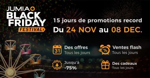 Le Black Friday installé en Algérie par Jumia