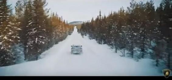 Teaser-vidéo : Après le sable, Le Lamborghini Urus à l'assaut du froid polaire