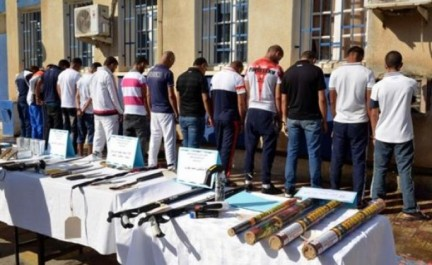 Lutte contre la criminalité : D'importantes quantités de psychotropes et des armes blanches saisies