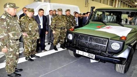 Algérie-Industrie militaire: près de 13.000 véhicules Mercedes-Benz produits à ce jour