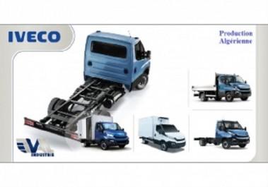 Usine Iveco Algérie : début de production et de commercialisation des véhicules