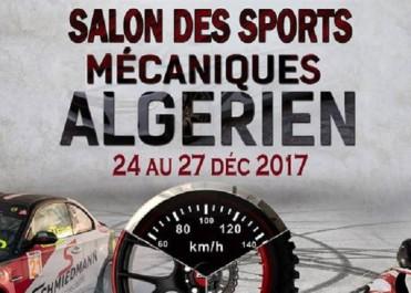 Sports Mécaniques : 1è salon dédié aux sports mécaniques du 24 au 27 décembre à Alger