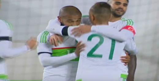 L'Algérie bat la Centrafrique en amicale