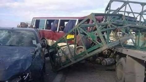 Chlef: Trois morts et cinq blessés dans une collision
