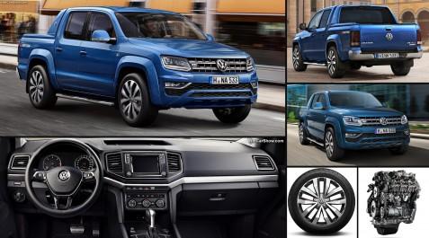 Volkswagen Group : L'Amarok remporte le trophée du Pick-up International 2018