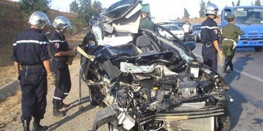 Accidents de la circulation: 10 morts en 48 heures