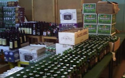 4500 bouteilles de boissons alcoolisées saisies par la police