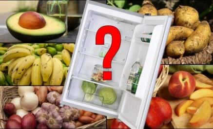 Ces 10 aliments qu'il ne faut jamais mettre au frigo