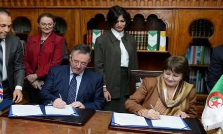 Algérie-Grande Bretagne: un accord de coopération pour l'amélioration de l'enseignement de l'anglais