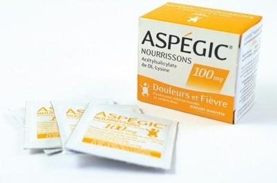 En vertu de deux arrêtés sur le remboursement des médicaments au jo :  Aspégic n'est plus remboursable depuis une semaine