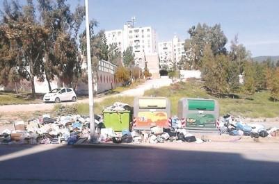 Brèves de tlemcen : Mansourah croule sous les ordures
