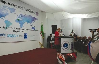 Label France Éducation : Le groupe scolaire privé Les Glycines d'Alger reçoit la certification