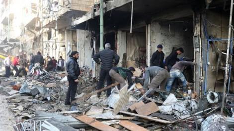 Syrie: 4 civils tués par des frappes aériennes