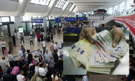 Alger: un passager à destination d'Istanbul arrêté en possession de 70 000 euros