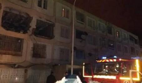 Tlemcen: Trois blessés dans une explosion de gaz